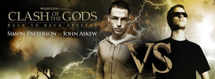 Simon Patterson & John Askew play Motion Emotion (Renato Dinis Remix) at Clash of the Gods