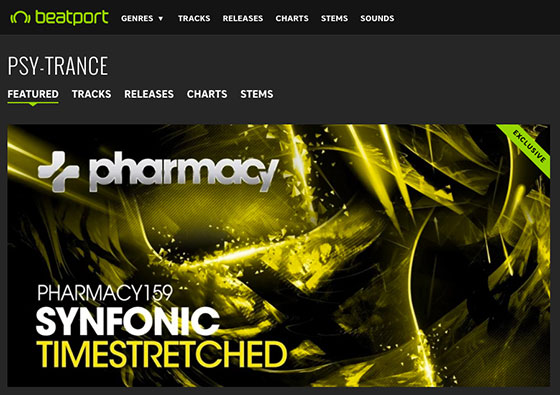 Synfonic – Timestretched is Banner Release on Beatport