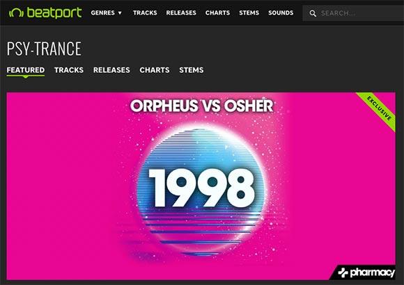 Orpheus & Osher – 1998 hits #9 on Beatport Singles chart