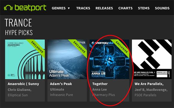 Anna Lee – Together is a Hype Pick on Beatport