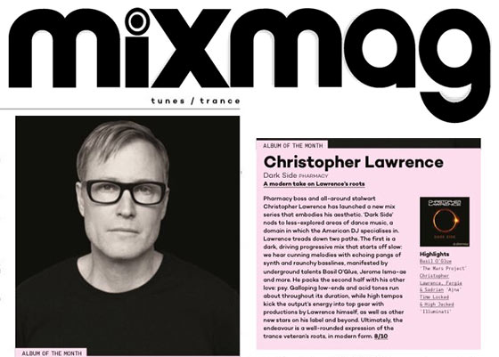 Christopher Lawrence – Dark Side is Mixmag's Album Of The Month