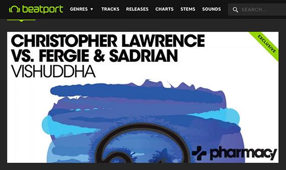 Christopher Lawrence vs. Fergie & Sadrian's Vishuddha is #22 on Beatport