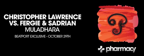 Christopher Lawrence vs. Fergie & Sadrian – Muladhara climbs to #57 on Beatport Singles Chart
