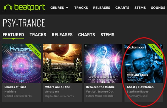 Stephane Badey – Ghost / Flowtation is a Featured Release on Beatport