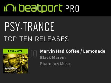 Black Marvin – Marvin Had Coffee / Lemonade is Top 10 on Beatport