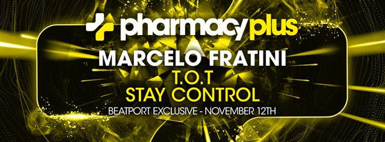 Marcelo Fratini – T.O.T / Stay Control is #28 on Beatport's Release Chart